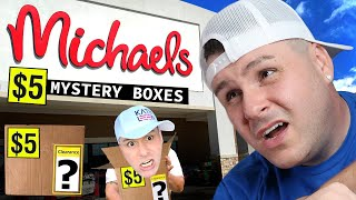 $432 of Stuff - MICHAELS $5 Mystery Grab Bags Clearance Boxes | Super Unsexy Haul