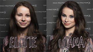 Profi sminkesnél jártam | Max Factor Make-up Academy + JÁTÉK