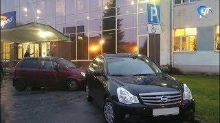 Парковку для инвалидов у ДКМ «ГОРОД» постоянно занимают другие автомобили