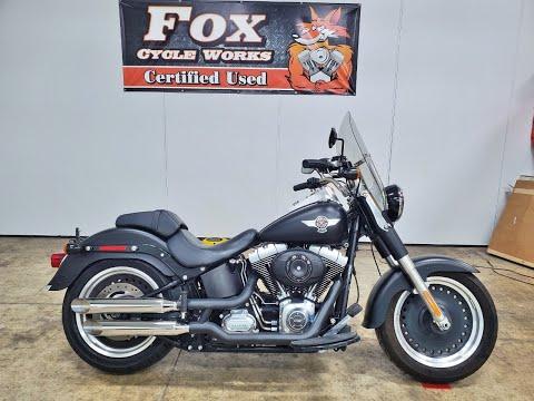 2012 Harley-Davidson Softail® Fat Boy® Lo in Sandusky, Ohio - Video 1
