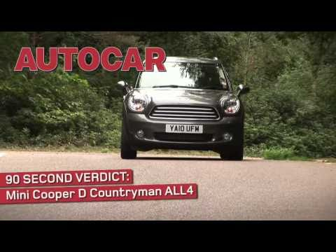 Mini Countryman - 90sec review by autocar.co.uk