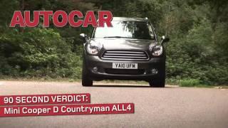 [Autocar] Mini Countryman - 90sec review
