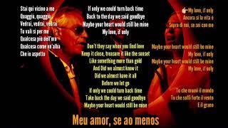 """Andrea Bocelli """"if Only"""" Ft. Dua Lipa (legendado Tradução)"""