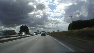 preview picture of video 'Driving On Route Nationale 12 N12 E50 Between Plérin &  Le Sépulcre, Brittany, France'