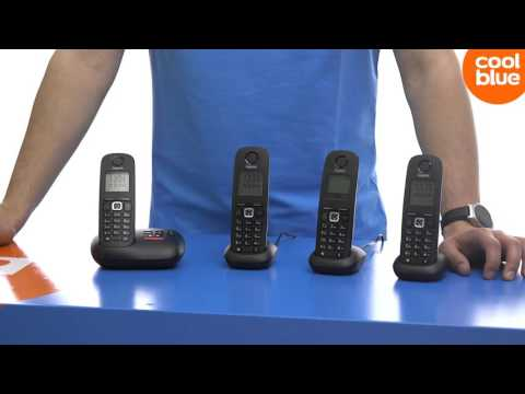 Gigaset A540A DECT telefoon Productvideo
