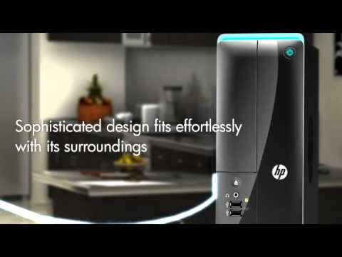 Video Preview for HP Pavilion Slimline s5 series Desktop PC - Black