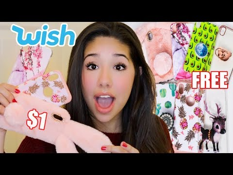Unboxing iPhone Cases From Wish!