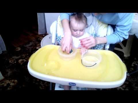 Развивающие игры дома. Игра с водой. 11 месяцев