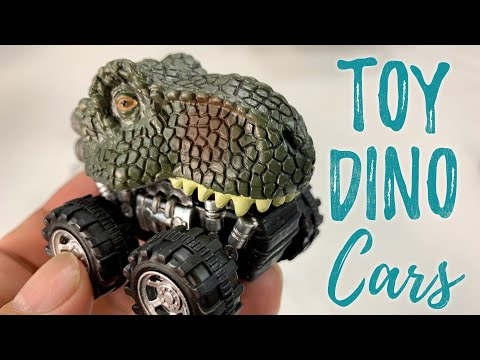 Dinosaur Pull Back Mini Car Kids Toy Set Review