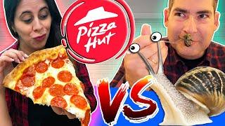 Pizza Hut Vs Caracol : BATALHA ÉPICA
