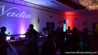 Quinceanera Lighting at Crowne Plaza San Marcos in Chandler AZ