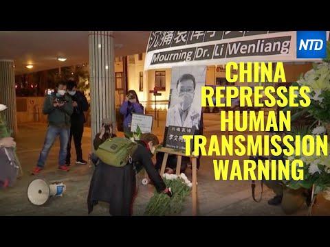 China Represses Human Transmission Coronavirus Warning! Great NTD Video!