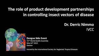 Video: Product development partnerships to control insect vectors of disease