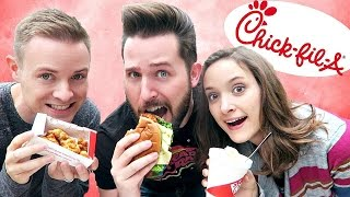 SIBLINGS TASTE CHICK-FIL-A'S MOST POPULAR ITEMS