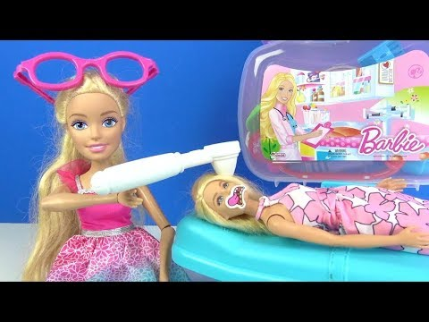 Barbie Arztkoffer Barbie Puppe ist krank Barbie Doktor Rollenspiel Set Doktor Spielzeuge
