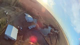 Drones on the Wheel / Fairview Alberta / FPV Drone