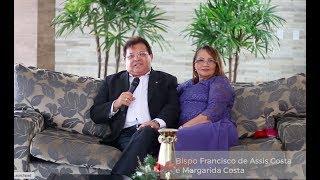 Bispo Francisco de Assis e Margarida Costa