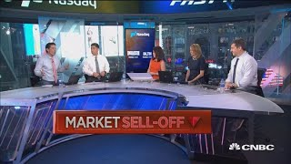 The Dow just fell 600 points, here's what traders think can stop the selling