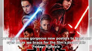Darkness rises and light to meet it on gorgeous star wars the last jedi posters