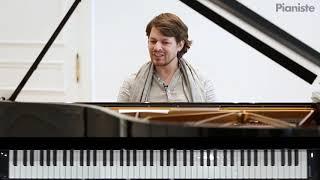 Masterclass Bach / Partita n°2, Sinfonia - David Fray - Pianiste n°113