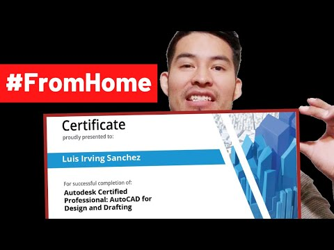 Become Autodesk AutoCAD Certified (Before It's Too Late!) - YouTube