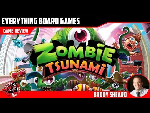Everything Board Games - Zombie Tsunami