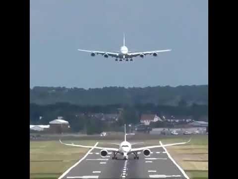 دائما هنالك مسافة محددة وكافية بين الطائرات في الاقلاع والهبوط إلا في بعض الحالات