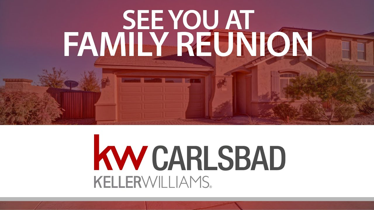 Are You Coming to KW Family Reunion?