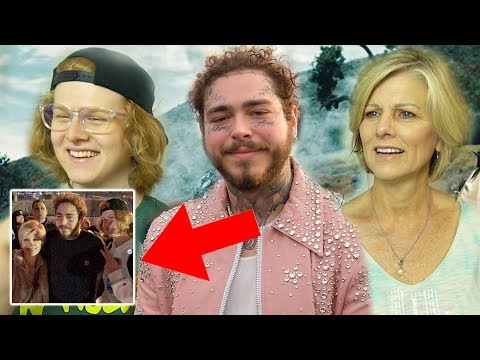 CUFBOYS MEETS POST MALONE - Mom Reacts to Circles