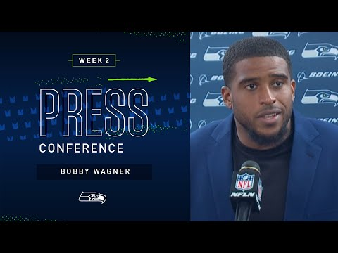 Bobby Wagner Postgame Press Conference at Steelers   2019 Seattle Seahawks