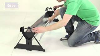 STIGA Action Roller Indoor Table Tennis Table Assembly - Aussie Table Tennis
