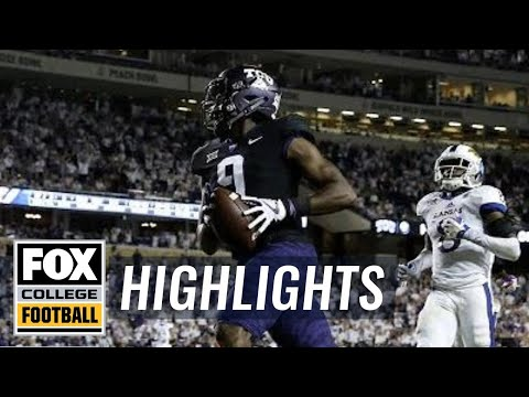 Kansas vs TCU | HIGHLIGHTS | FOX COLLEGE FOOTBALL