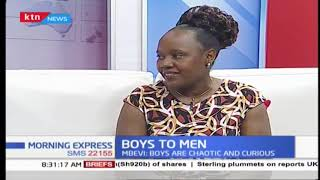 Black and White: How a male can graduate from a boy to a man