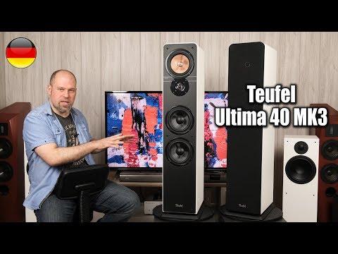 Teufel Ultima 40 MK3 2018 | wie gut ist dieser 500€ (Paar) Lautsprecher?
