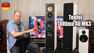 Teufel Ultima 40 MK3 2018   wie gut ist dieser 500€ (Paar) Lautsprecher?