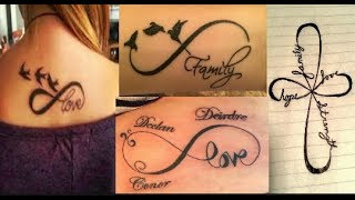 Infinity Tattoo Heartbeat & Family // Nice Cool Infinity Tattoo //