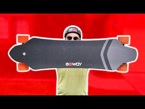 BEST ELECTRIC SKATEBOARD OF 2018? (EXWAY X1 REVIEW)