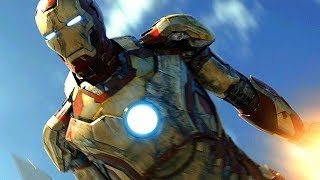 Iron Man Plane Rescue Scene - Iron Man 3 (2013) Movie CLIP HD