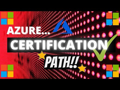 Azure Certification Path 2020 - YouTube