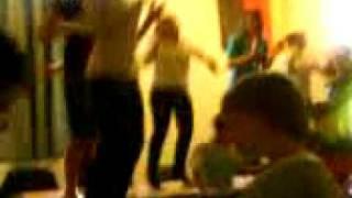 bpen dancing to cheeky girls x