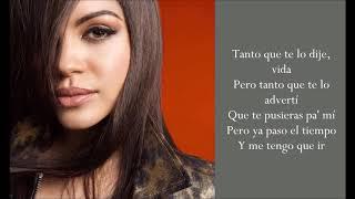 Lamento Tu Pérdida - Natti Natasha - (Lyrics)