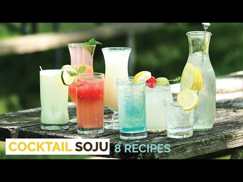 Video SOJU COCKTAIL 8 Delicious Recipes - Crazy Korean Cooking
