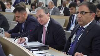 Զ. Մնացականյանի ելույթը ՄԱԿ Մարդու իրավունքների խորհրդի 41-րդ նստաշրջանի բարձր մակարդակով հանդիպմանը