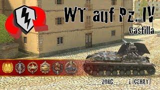 World Of Tanks Blitz Replays - WT Auf PZ. IV At Castilla W/ ___ZORG____1 [CEHAT]