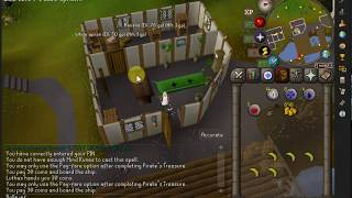 [OSRS] Pirate's Treasure Quest Guide OldSchool Runescape