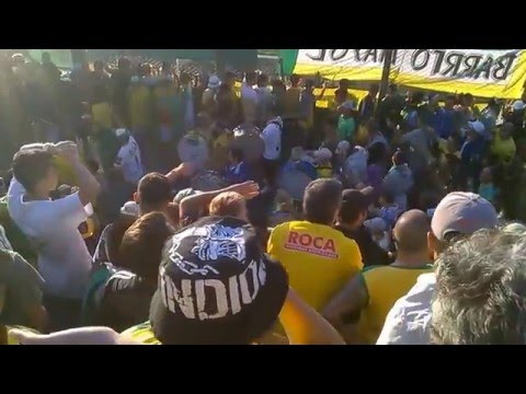 """""""Defensa y Justicia - Hinchada 2016 ♪"""" Barra: La Banda de Varela • Club: Defensa y Justicia"""