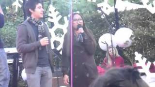Charice & David Archuleta - Because of you (98 degrees)