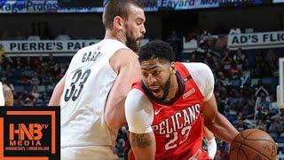 New Orleans Pelicans Vs Memphis Grizzlies Full Game Highlights / April 4 / 2017-18 NBA Season