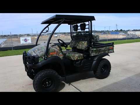 2017 Kawasaki Mule SX 4x4 XC Camo in La Marque, Texas - Video 1