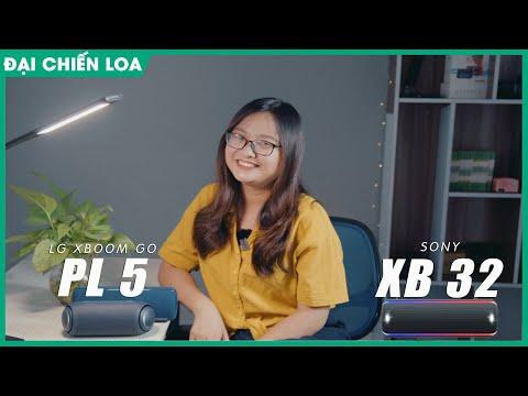 [Đại chiến loa] LG XBoom Go PL5 vs Sony SRS-XB32| Loa nào hơn???